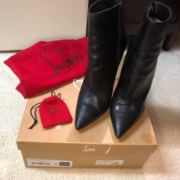2483a5e967a8 Christian Louboutin Shoes - Christian Louboutin So Kate Bootie 120mm Black  38